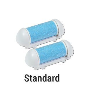 Foot Love Standard Callus Remover Rollers - Blue