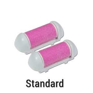Foot Love Standard Callus Remover Rollers - Pink